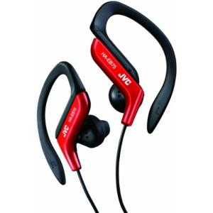 JVC HA-EB75-R イヤホン 耳掛け式 防滴仕様 スポーツ用 レッド|aparagiya