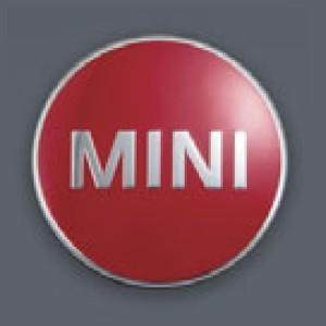 MINI純正 カラード・センター・キャップ(チリ・レッド)(4個セット)(F54/F55/F56/F57/F60) apdirect