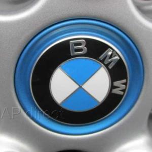 BMW純正 ホイールセンターキャップ(ブルーリングタイプ)(56mm)(1個)|apdirect