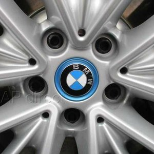BMW純正 ホイールセンターキャップ(ブルーリングタイプ)(1個)|apdirect|02