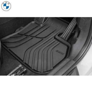 BMW純正 オール・ウェザー・フロア・マット・セット(ブラック)(フロント)(右ハンドル車用)(F45/F46)|apdirect