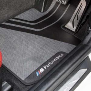 BMW純正 M Performance オールウェザー・マット・セット(フロント)(右ハンドル車用)(F20/F22/F23/M2 F87)|apdirect