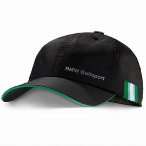 BMW純正 GOLFSPORT COLLECTION 高機能キャップ(ブラック)帽子 apdirect