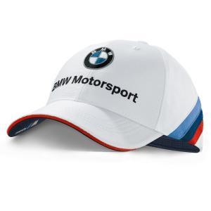 BMW純正 MOTORSPORT COLLECTION チーム・キャップ (ユニセックス)(ホワイト)帽子 apdirect