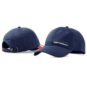 BMW純正 GOLFSPORT COLLECTION 高機能キャップ (ユニセックス)(ネイビー・ ブルー)帽子|apdirect