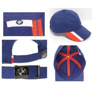 BMW純正 GOLFSPORT COLLECTION 高機能キャップ (ユニセックス)(ネイビー・ ブルー)帽子|apdirect|02
