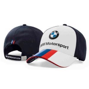 BMW純正 MOTORSPORT COLLECTION ファン・キャップ(ホワイト/ チーム・ブルー)(ユニセックス)帽子 apdirect