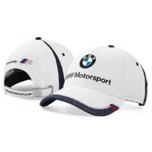 BMW純正 MOTORSPORT COLLECTION キャップ(ホワイト/ チーム・ブルー)(ユニセックス)帽子 apdirect