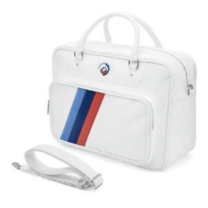 BMW純正 MOTORSPORT HERITAGE スポーツ・バッグ(ホワイト)|apdirect