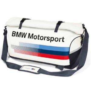 BMW純正 MOTORSPORT COLLECTION スポーツ・バッグ(ホワイト/ チーム・ブルー) apdirect