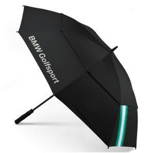 BMW純正 GOLFSPORT COLLECTION ゴルフ・アンブレラ(傘)ブラック apdirect