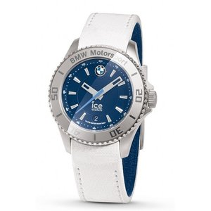 BMW MOTORSPORT ICE WATCH STEEL UNISEX(ホワイト&チーム・ブルー)
