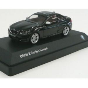 BMW ミニチュアカー 2シリーズ クーペ F22(サイズ:1/43)(ブラック サファイア)|apdirect