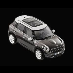 MINI ミニチュアカー R60 COOPER S CROSSOVER(アブソルート・ブラック)(サイズ:1/18)|apdirect
