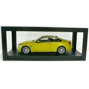 BMW ミニチュアカー M4 クーペ F82(サイズ:1/18)(メタリック オースチン イエロー)|apdirect