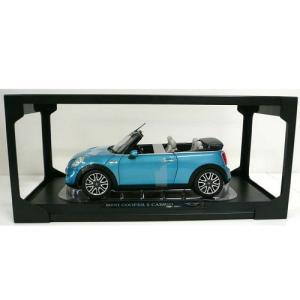 MINI ミニチュアカー F57 COOPER S CONVERTIBLE(エレクトリック ブルー)(サイズ:1/18)|apdirect