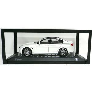 BMW ミニチュアカー M3(F80)(サイズ:1/18)(ミネラル ホワイト メタリック)|apdirect
