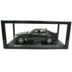 BMW ミニチュアカー 5シリーズ セダン G30(サイズ:1/18)(メタリック ソフィスト グレー ブリリアント エフェクト)|apdirect