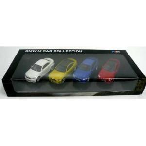 BMW ミニチュアカー M Car Collection.(4台セット)(サイズ:1/64)|apdirect