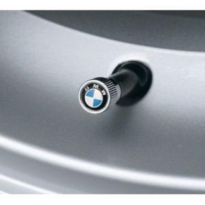 BMW純正 クローム  バルブキャップ 4個セット(1台分) エンブレムタイプ|apdirect