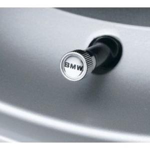 BMW純正 クローム バルブキャップ 4個セット(1台分) BMW純正ワードマーク|apdirect
