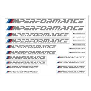 BMW純正 M performance ステッカー(A4サイズ)|apdirect