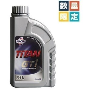 FUCHS (フックス) TITAN GT1 SAE 5W-40 XTL (エンジンオイル) 4L (マグカップ2個+フックストートバッグ付き)初音ミク/レーシングミク 2018|apdirect