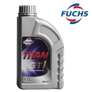 FUCHS (フックス) TITAN GT1 SAE 0W-20 XTL (エンジンオイル) 1L 1本|apdirect