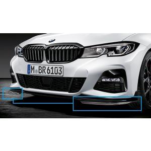 BMW純正 M Performance エアロダイナミック・パッケージ カーボン・フロント・スプリッター(G20/G21)