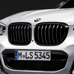 BMW純正 キドニー・グリル(ブラック)(G01/G02)|apdirect