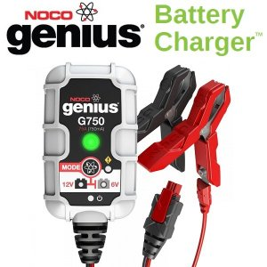 NOCO(ノコ) バッテリーチャージャー G750 6V&12V 充電電流750mA   Battery Chargers|apdirect