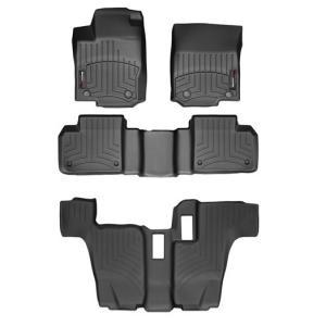 MERCEDES BENZ(メルセデス ベンツ) GLクラス X166(2013〜2016年)左ハンドル車 フロアマット/フロアライナー(フロント&リア)(ブラック) apdirect