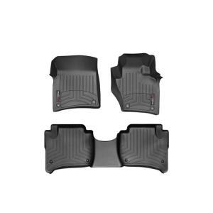 ポルシェ カイエン(958型)(2013〜2015年)右ハンドル車 フロアマット/フロアライナー(フロント&リア)(ブラック)|apdirect