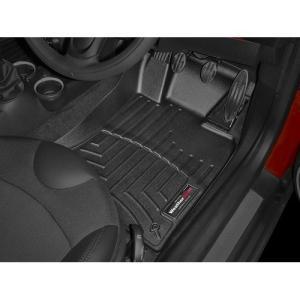 MINI クラブマン R55/ハッチバック R56/ロードスター R59 フロアマットセット(右ハンドル車用)(フロント)(ブラック)|apdirect