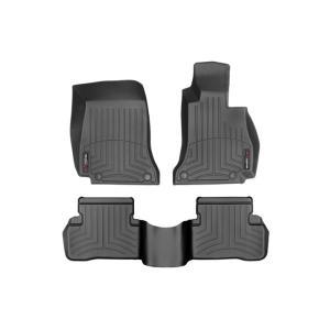 メルセデス ベンツ Cクラス W205 セダン/S205 ワゴン(2014〜2015年)右ハンドル車 フロアマット/フロアライナー(フロント&リア)(ブラック)|apdirect