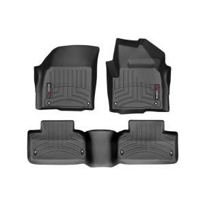 Land Rover レンジローバーイヴォーク(ランドローバー)(2012〜2016年)右ハンドル車用 フロアマットセット(フロント&リア)(ブラック)|apdirect
