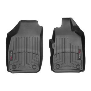 FIAT(フィアット) 500(2012〜2017年)右ハンドル車 フロアマット/フロアライナー(フロント)(ブラック)|apdirect
