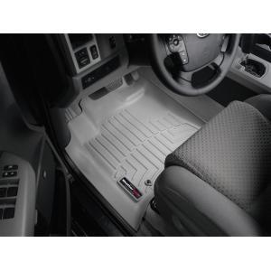 USトヨタ タンドラ クルーマックス(2007〜2011年)左ハンドル車 フロアマット/フロアライナー(フロント&リア)(グレー)|apdirect