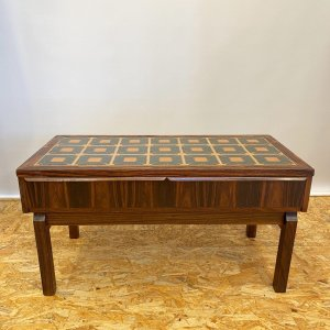 ローテーブル タイルテーブル ヴィンテージ 北欧家具 デンマーク ローズウッド リビング|apetera