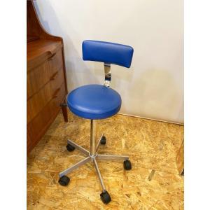 ワーク 作業椅子 メタル ヴィンテージ キャスター 昇降機能付き|apetera