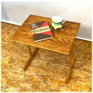 サイドテーブル / ローテーブル / コーヒーテーブル / ヴィンテージ / 北欧家具 / オーク / デンマーク/北欧インテリア/北欧ヴィンテージ|apetera