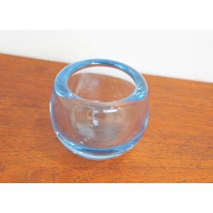 ホルムガード Holmegaard キャンドルホルダー Aqua アクア ペル・ルッケン Per Lutken ガラス デンマーク|apetera