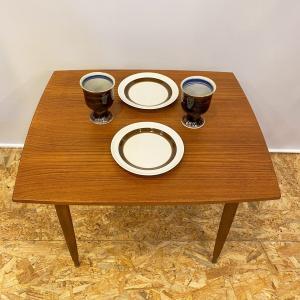 サイドテーブル ヴィンテージ 北欧家具 デンマーク チーク|apetera