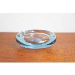 ホルムガード Holmegaard アッシュトレイ 灰皿 Aqua アクア ペル・ルッケン Per Lutken ガラス デンマーク|apetera