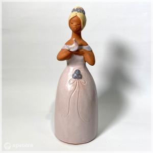 フィギュア / JIE / 鳥と歌う女性|apetera