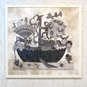 アートフレーム / #51 Ark of Noah / Heidi Lange / Sweden apetera