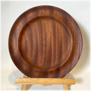 ヴィンテージプレート / 木製プレート / 円皿 / ソリッド チーク|apetera