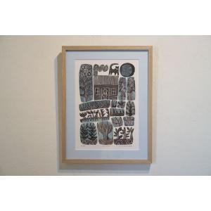 アートフレーム / big moon / Hilke Maclntyre|apetera