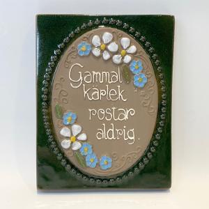 陶板 / 花とメッセージ / Jie gantofta / Aimo Nietosvuori / Sweden|apetera