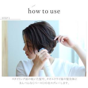 アウトバス トリートメント 洗い流さない ハリコシ ツヤ 保湿 心髪 ボタニカル ベースミスト ブロー|apishmono|08